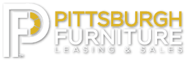 Pittsburgh Furniture White Logo Large