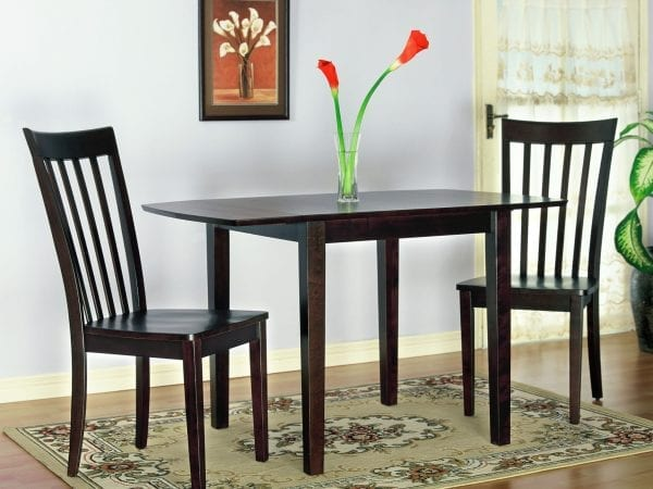 Chocolate brown dining set Pittsburgh Furniture