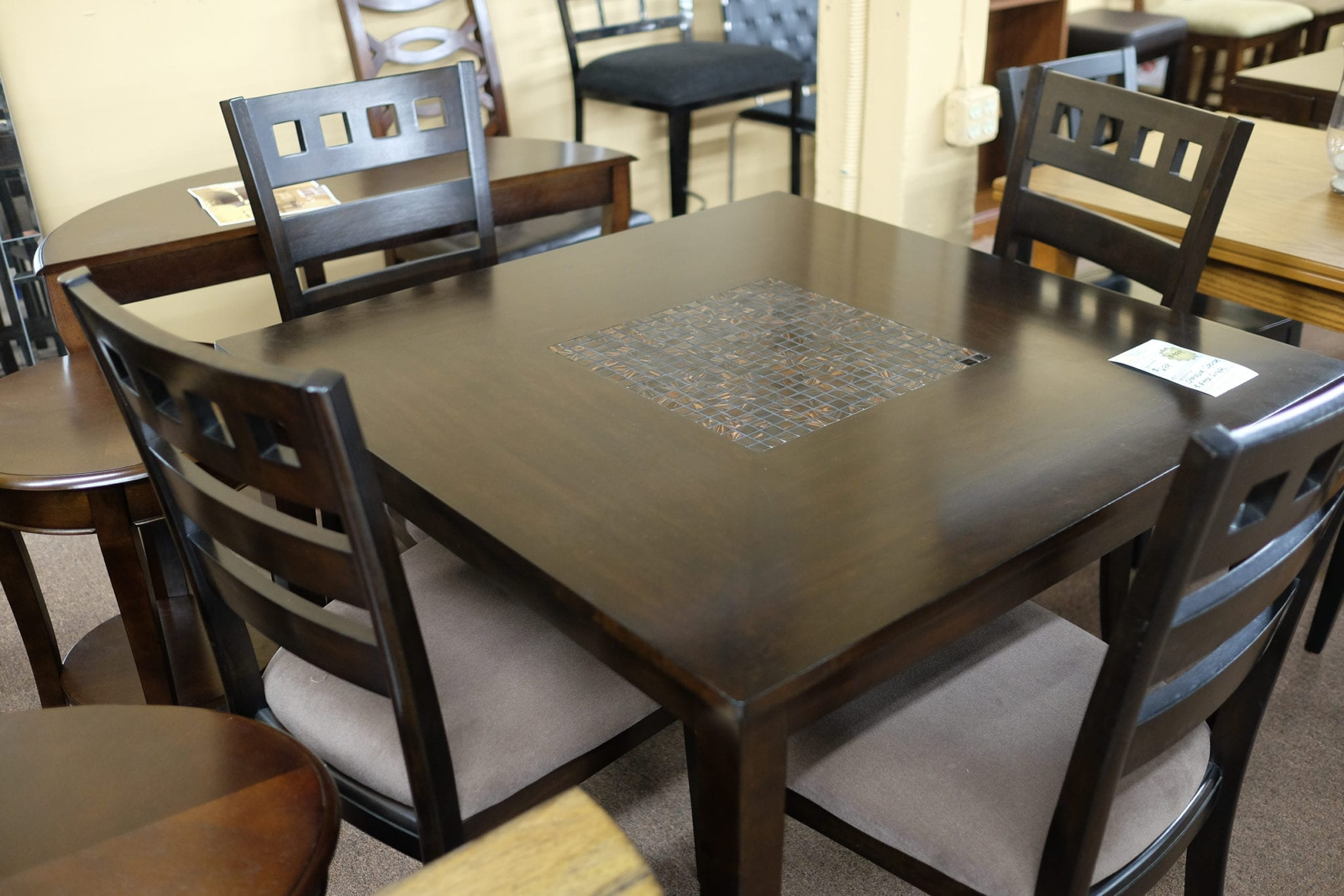 dining room furniture pittsburgh | Standard Sparkle 5 Piece Dinette | Pittsburgh Furniture ...
