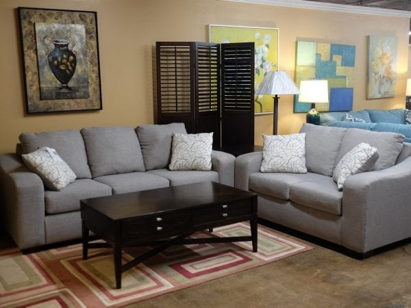 Fandango stone sofa and loveseat Pittsburgh Furniture