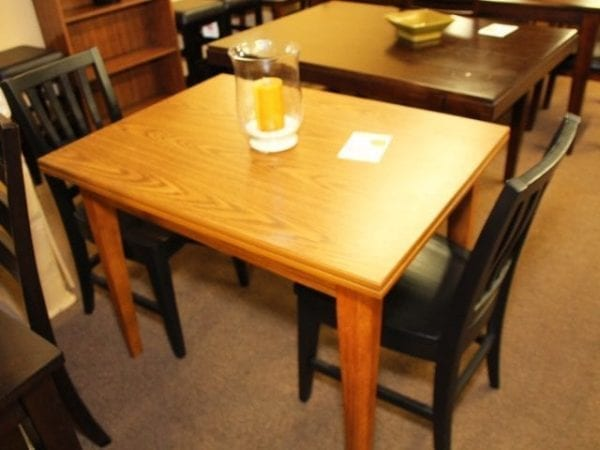 Cromcraft 3 piece Oak Dinette table and chairs set
