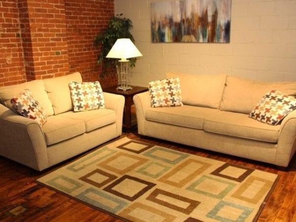 Daze Dune love seat and sofa set Pittsburgh Furniture