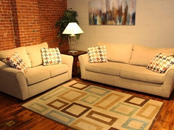 Daze Dune love seat and sofa set Pittsburgh Furniture