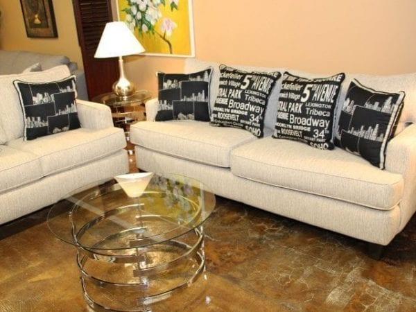 EZ Taupe Sofa & Love seat set