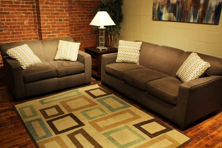 Halo Mola love seat and sofa set