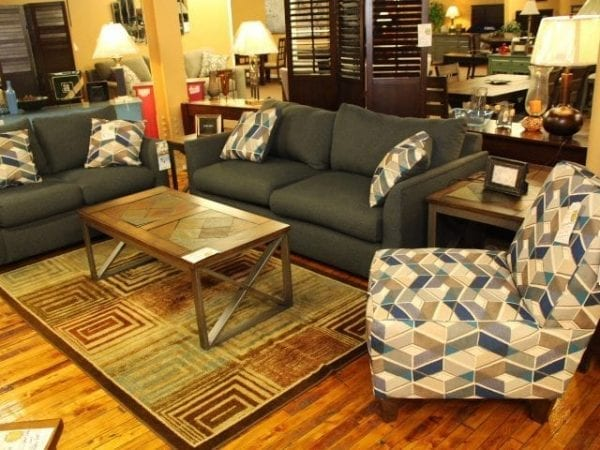 Max Algea Sofa and Loveseat set Pittsburgh Furniture