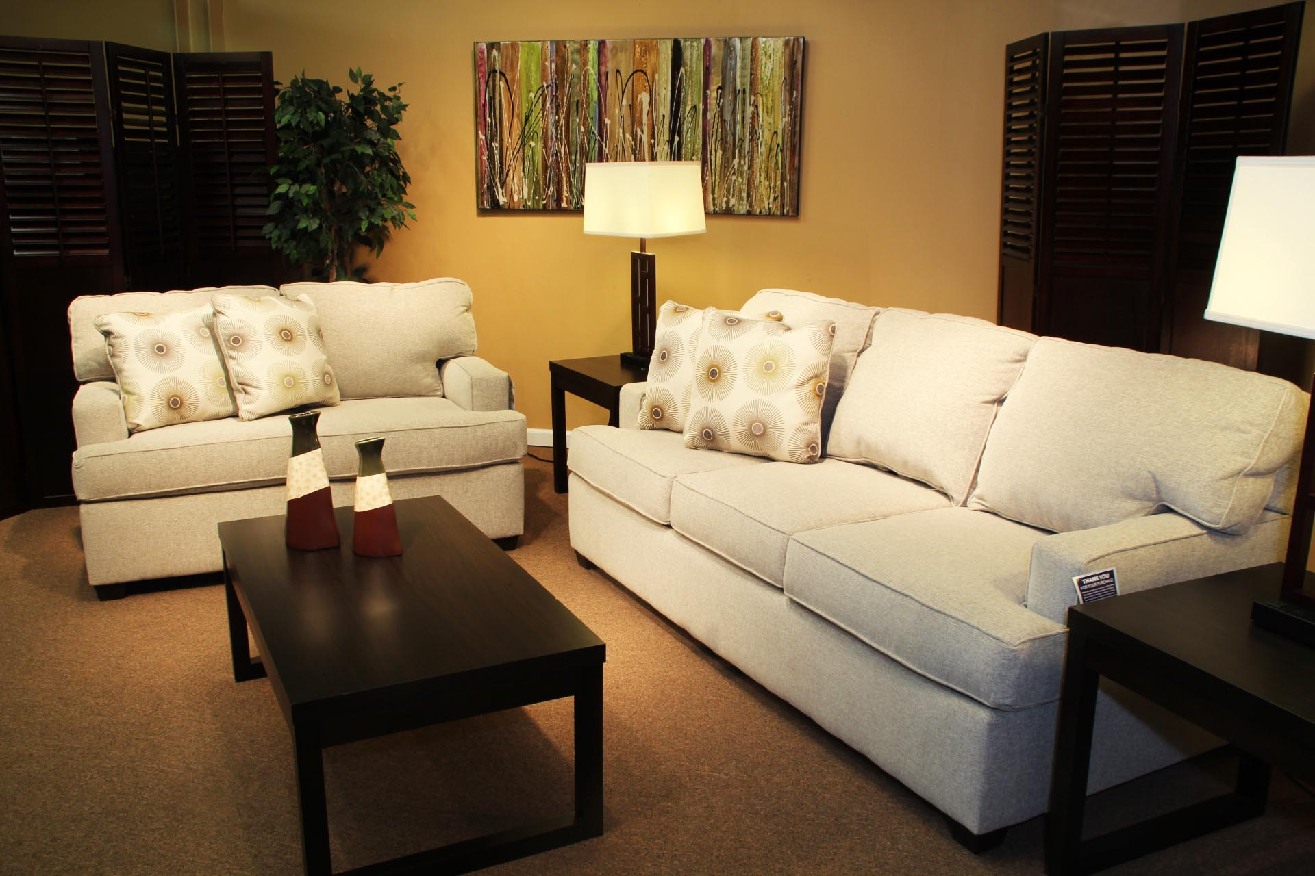 Gorman Birch Sofa And Loveseat