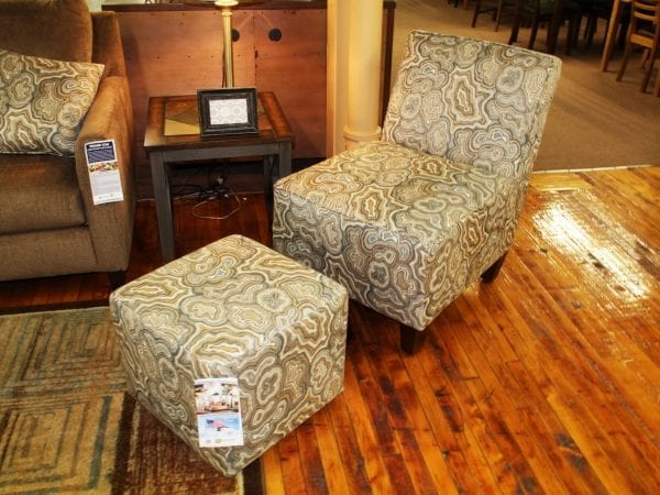 Pittsburgh Furniture ottoman & love seat example