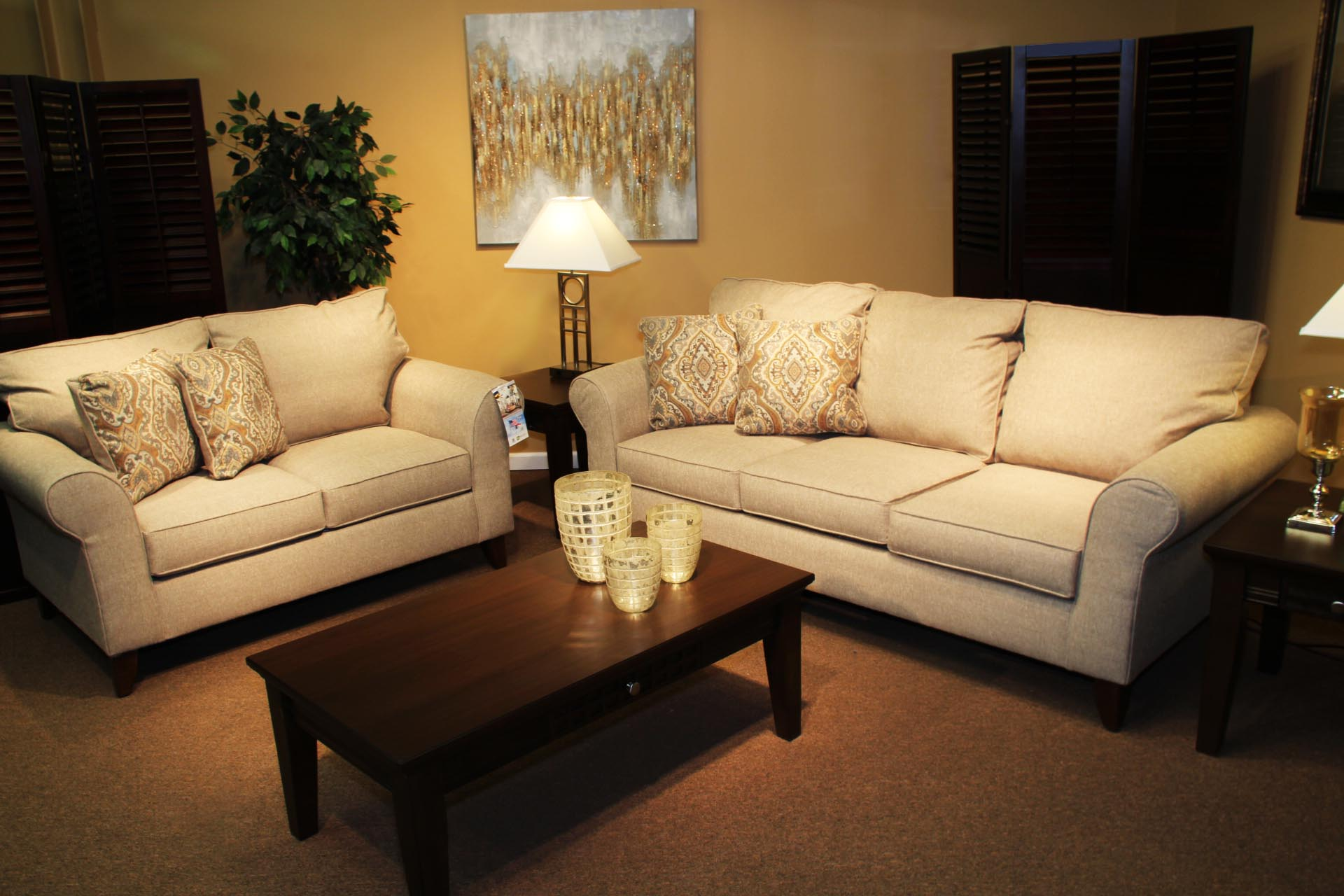 Pittsburgh Furniture living room set example