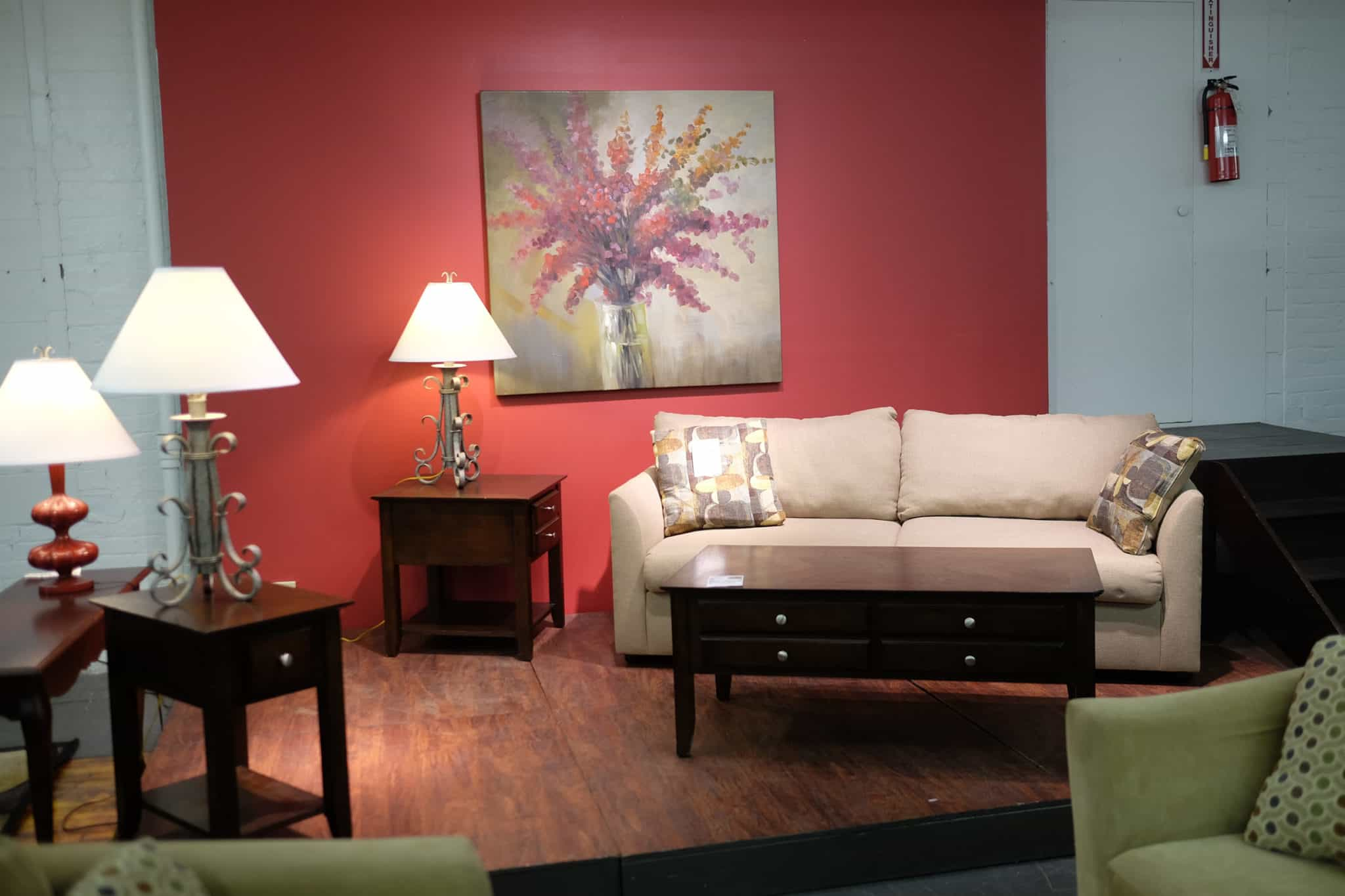 A Leased Furniture Livingroom set