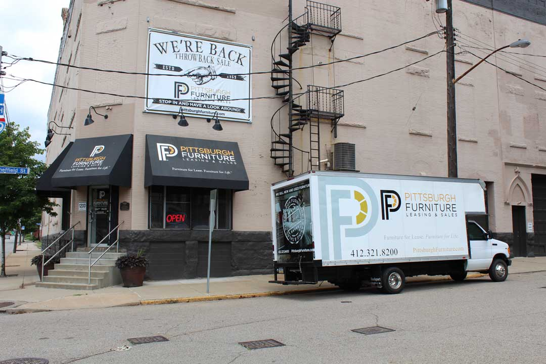 Pittsburgh Furniture Leasing and Sales Store Front