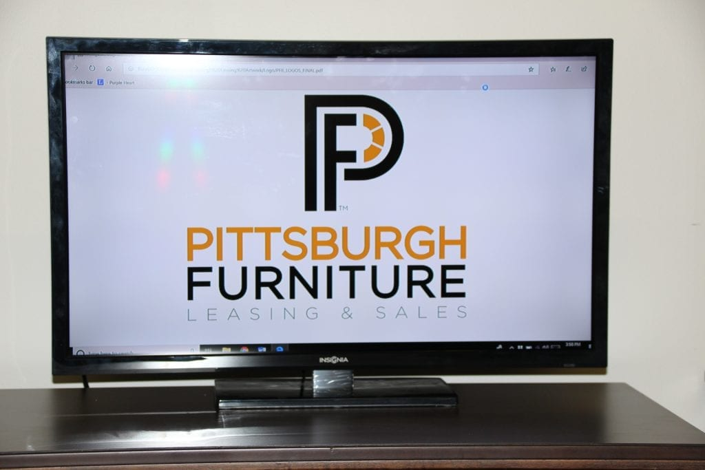 32 Inch HDTV for lease at Pittsburgh Furniture Leasing