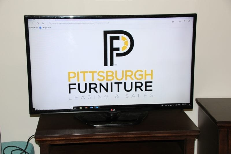 42 Inch HDTV available at Pittsburgh Furniture Leasing