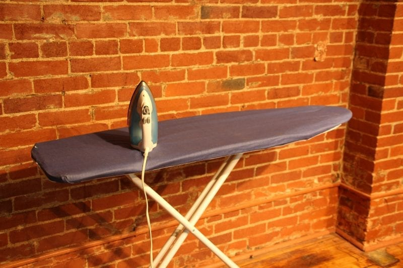 Iron and Ironing board available at Pittsburgh Furniture Leasing