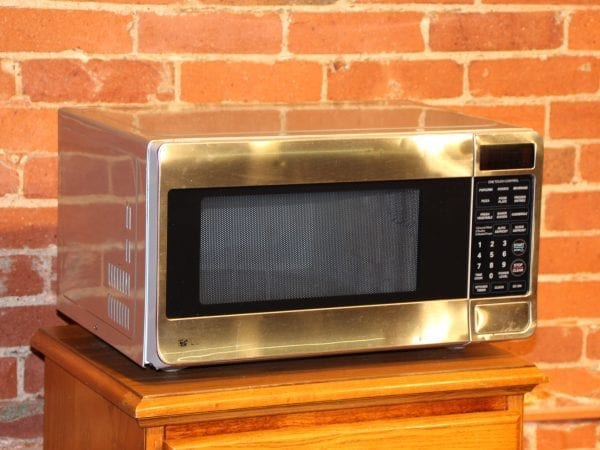 Microwave available for lease at Pittsburgh Furniture Leasing