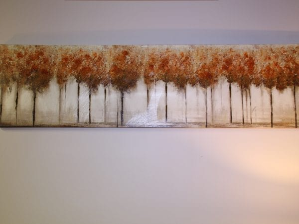 Long tree canvas available for lease at Pittsburgh Furniture Leasing