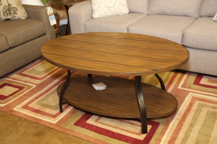 Coffee table available for lease at Pittsburgh Furniture Leasing
